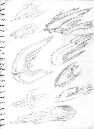 57-vaisseaux design concept dessin