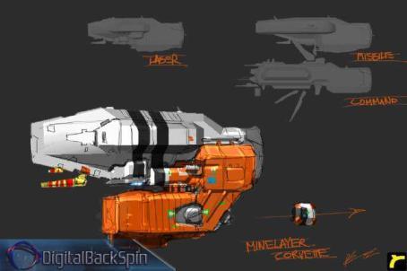 87-vaisseaux design concept dessin