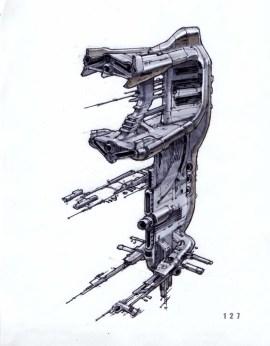 9-vaisseaux design concept dessin
