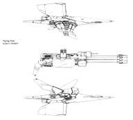 95-vaisseaux design concept dessin