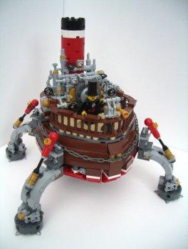 lego bateau steampunk - 2 Much Caffeine