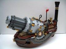 lego steampunk bateau -2 Much Caffeine