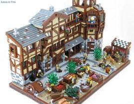 lego ville medievalle