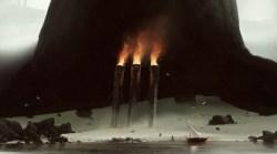 trois torches dessin