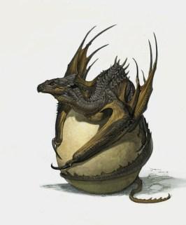 dragon oeuf
