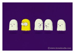 bart fantome pacman