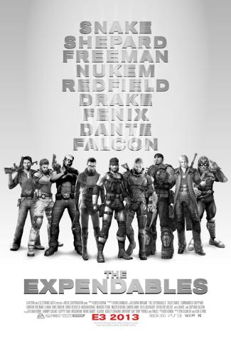 expandables video game