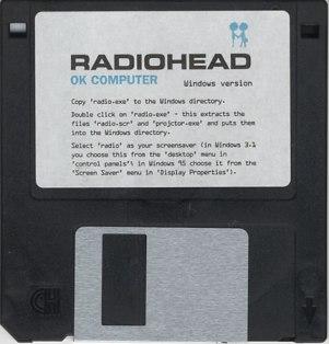 radiohead disquette d7