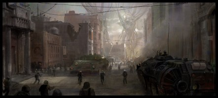 dessin ville futur
