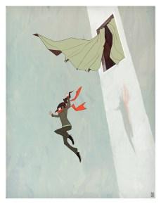 dessin saut fenetre