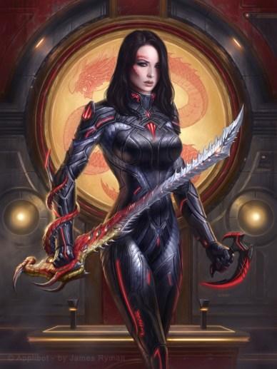 Living Great-sword Wielder Dragon Knight _Normal par namesjames