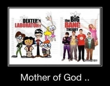 dexter lab big bang theory