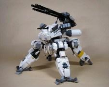 gattling-gun lego mecha