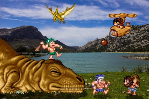 real_bits___joe_and_mac__caveman_ninja_by_victorsauron-d613pja