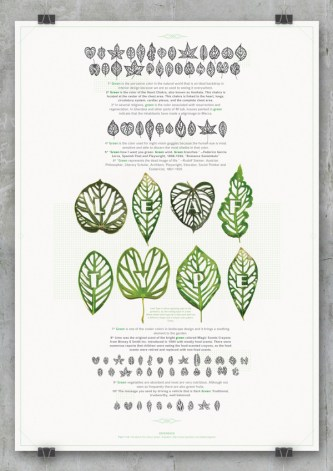 leaf type feuille typo
