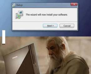 program wizard gandalf