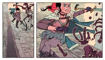 épée fille fantasy