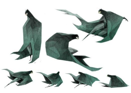 batman anguleux