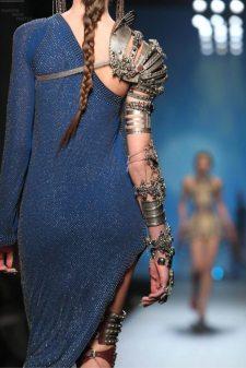 modele armure defile jena paul gaultier