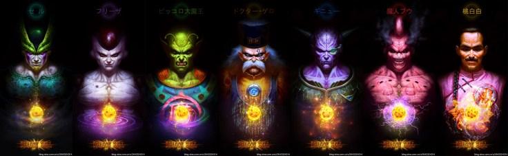villains dragon ball revisites