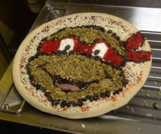 tortue ninja pizza