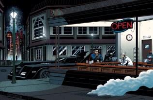 Edward Hopper batman superman