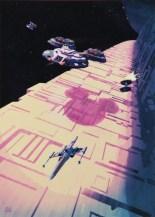 star wars disney couloir etoile noire