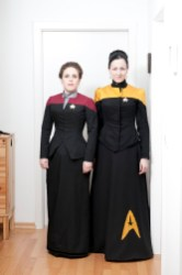 uniforme star trek victorien