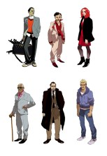 personnages dessins characters