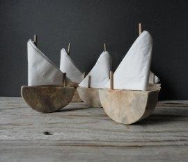 porte serviettes design bateau voile