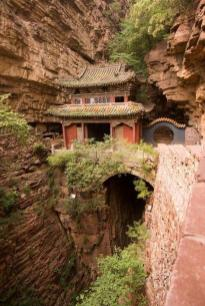 moon bridge temple china