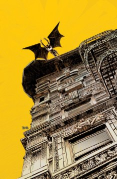 batman jaune noir
