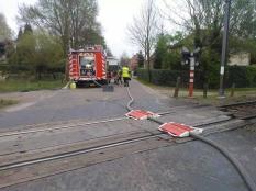 pompier train