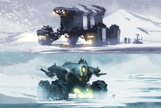 concept vehicule arctique