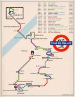 tour de france plan metro londres