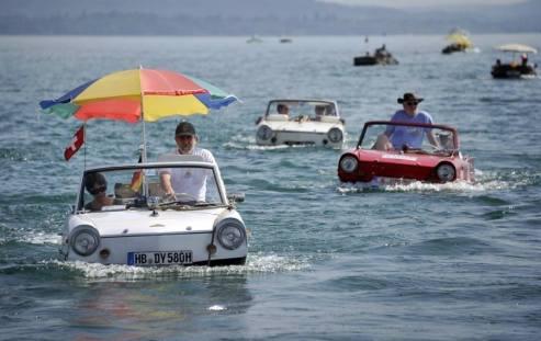 voitures bateau