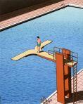 saut plongeoir double