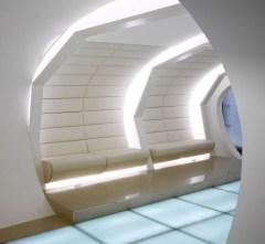 interieur futuriste design