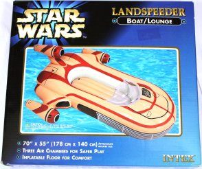 star wars landspeeder piscine