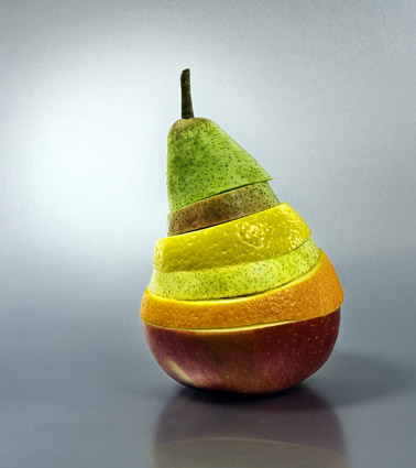 poire recomposee