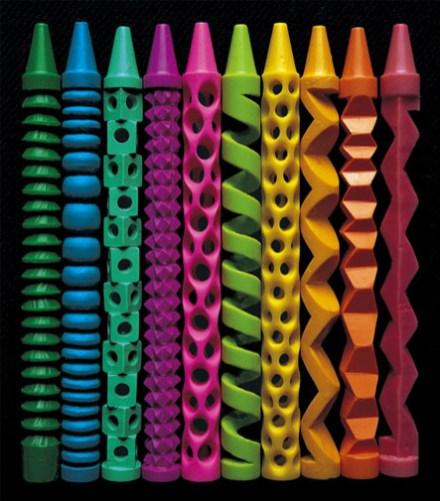 crayon couleurs graves