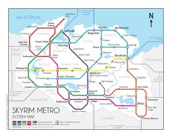 skyrim metro