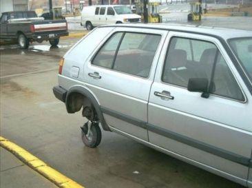 mini roue de secours