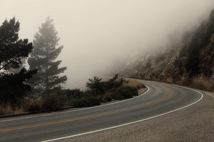 route brume
