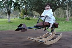 bebe leia rockingchair balancelle