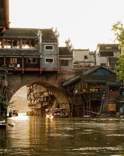 maison sur pont