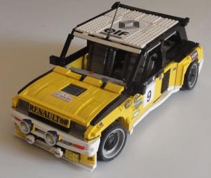 renault 5 turbo lego