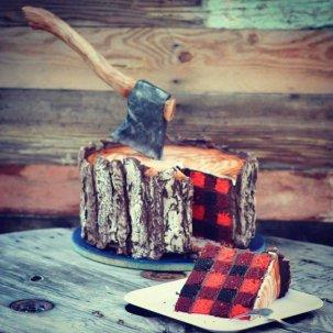 gateau bucheron canadien