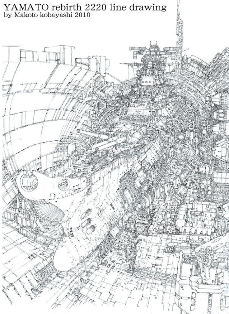 yamato dessin