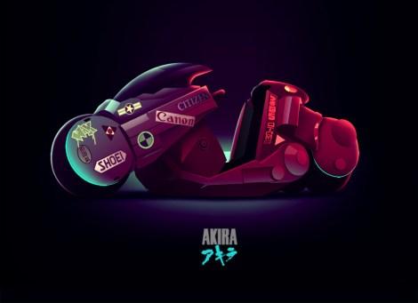 akira moto dessin